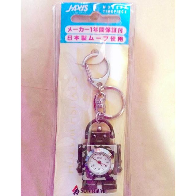 日本製 手錶 吊飾 機器人