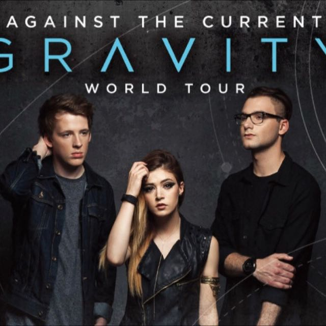 RESERVED - Against The Current Gravity Tour Tickets! (1 Pair)