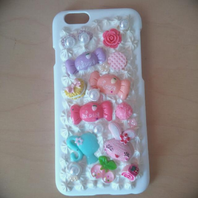 Decoden Iphone 6 white casing