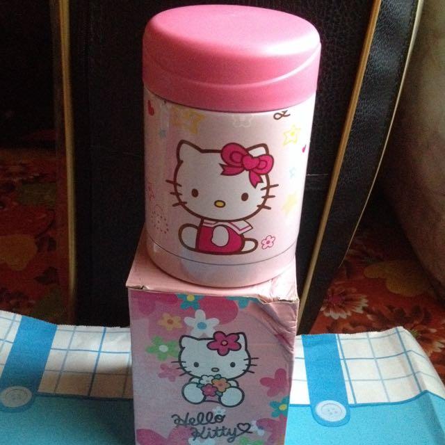 Hello Kitty KT 貓 保溫杯 350ML 盒子有折痕
