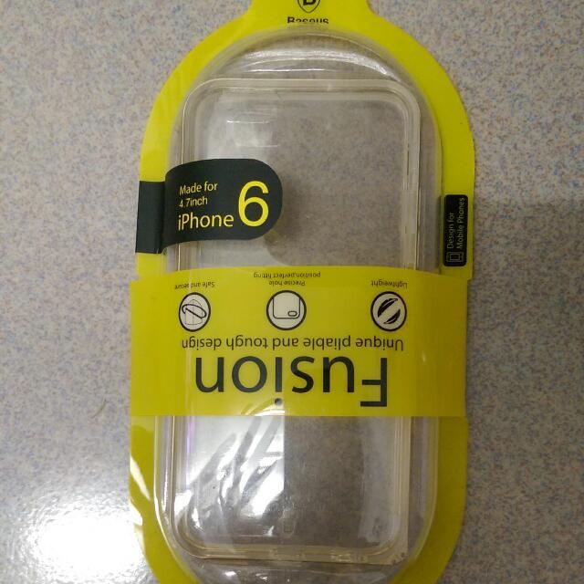IPhone6(4.7)倍思原裝雙料金屬框
