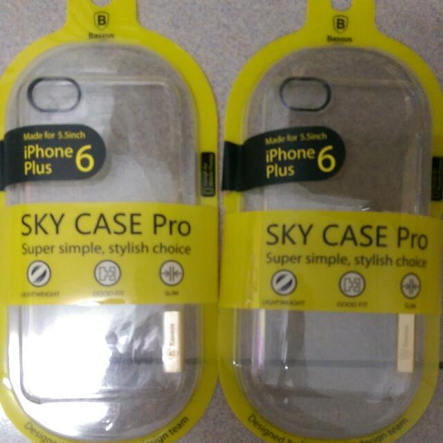 IPhone6(5.5) 倍思正品透明硬殼