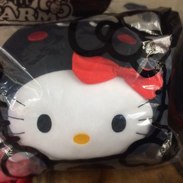 麥當勞kitty 貓 瓢蟲抱枕🐞