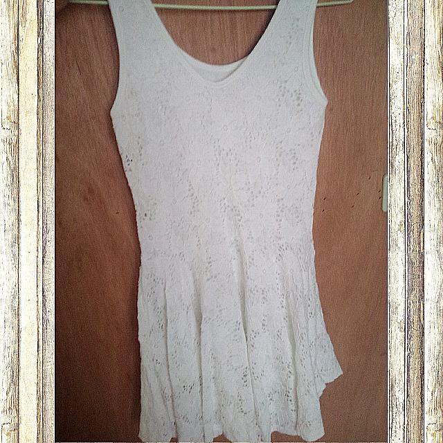 KR/純白小洋裝