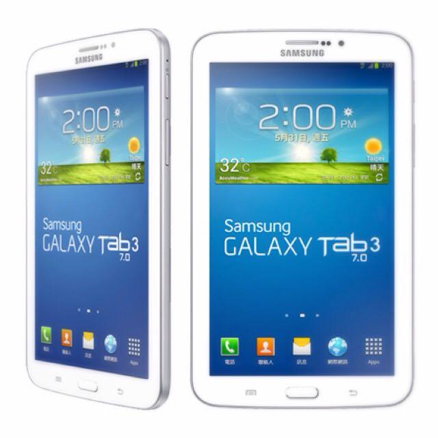 (保留中)Samsung. Tab3. 7.0