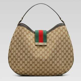 Authentic Gucci Shopping Hobo Bag