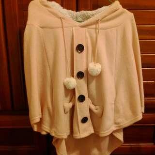 冬衣出清 可人粉色外搭衣