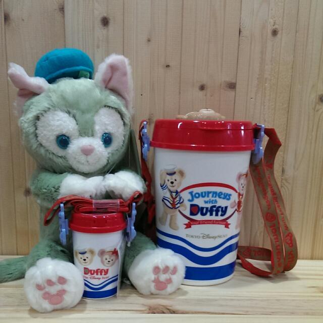 🎉達菲熊10週年限定💘爆米花桶🐻🐻(買大送小)