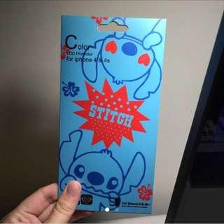史迪奇stitch iphone4正反保護膜