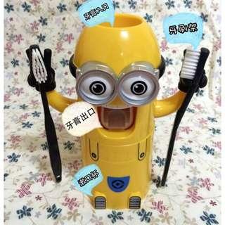 小黃人 自動擠牙膏器