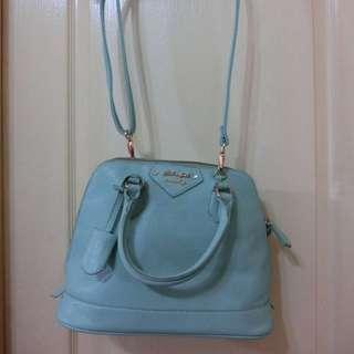 蒂芬妮綠側背包包
