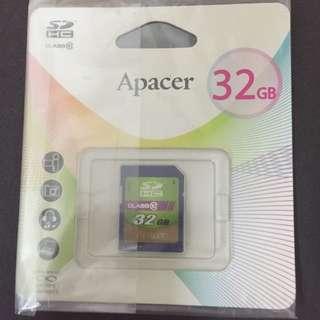 Apacer 記憶卡 32G