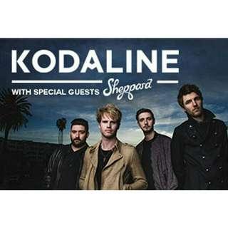 1 Ticket to Kodaline Concert