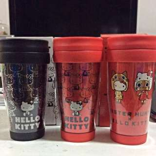Authentic Hello Kitty Cup w cover