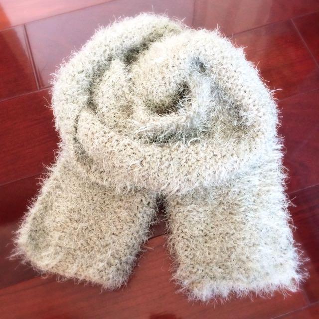 全新 針織圍巾