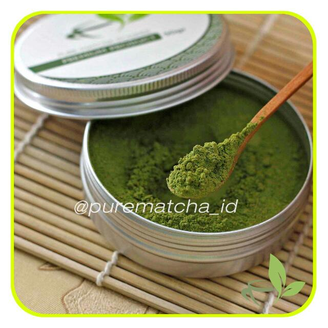 Pure Matcha - Tea Powder 50gr Premium Aluminium Pack