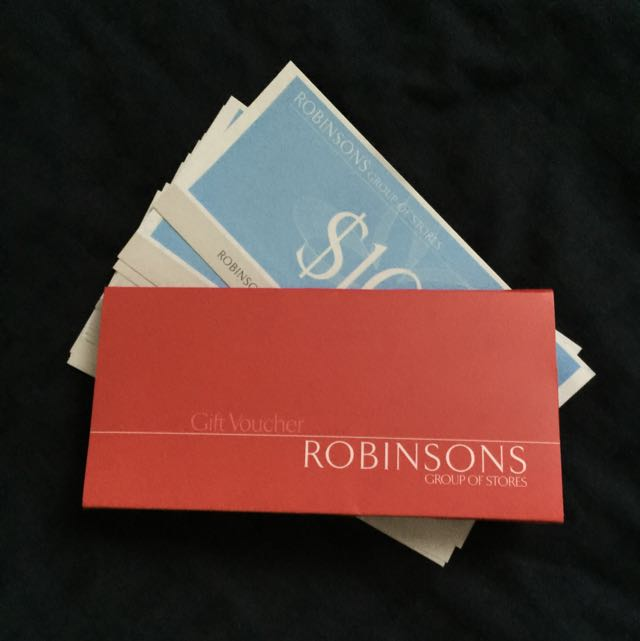 [RESERVED] Robinsons Gift Vouchers