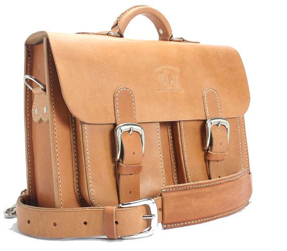 rustic distressed leather messenger bag briefcase laptop satchel 131