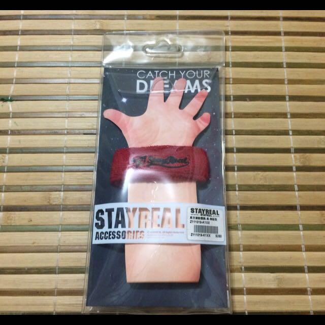 STAYREAL 星空運動護腕 全新未戴過 (剩下短的)