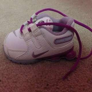 Adidas Baby Shox Size 2