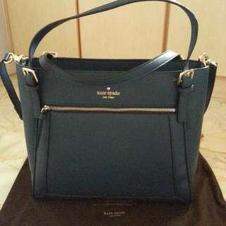 Kate Spade Navy Blue Leather Bag