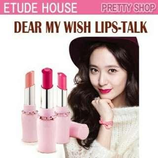 Etude House Dear My Wish Lips-Talk