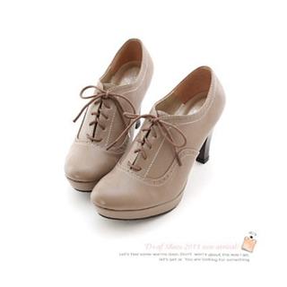 【全新】D+AF 爵士名伶MIT靜音天皮綁帶牛津踝靴