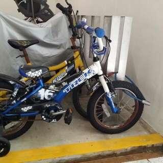 Blue trek bike