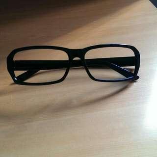 無鏡片眼鏡