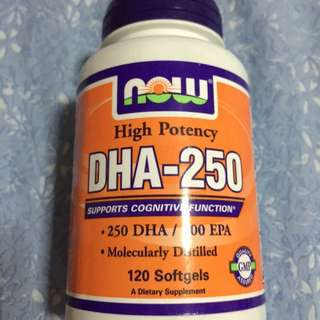 BN NOW DHA-250 Vitamins/ Supplements
