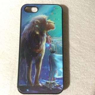 Iphone5/5s 3D獅子座手機殼