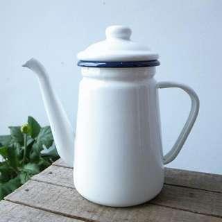 Enamel Tea/Coffee Pot