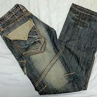 Whoops Denim Jeans Slim Fit Straight cut Pants Size 30 (reserved)