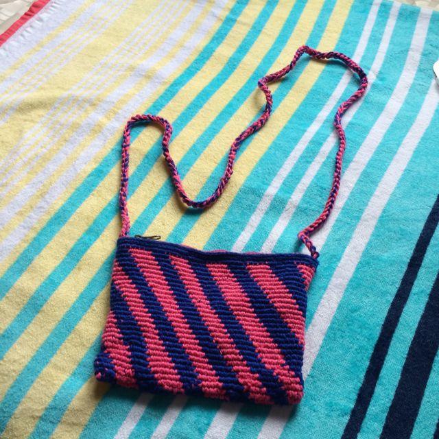 泰雅奶奶手工編織包