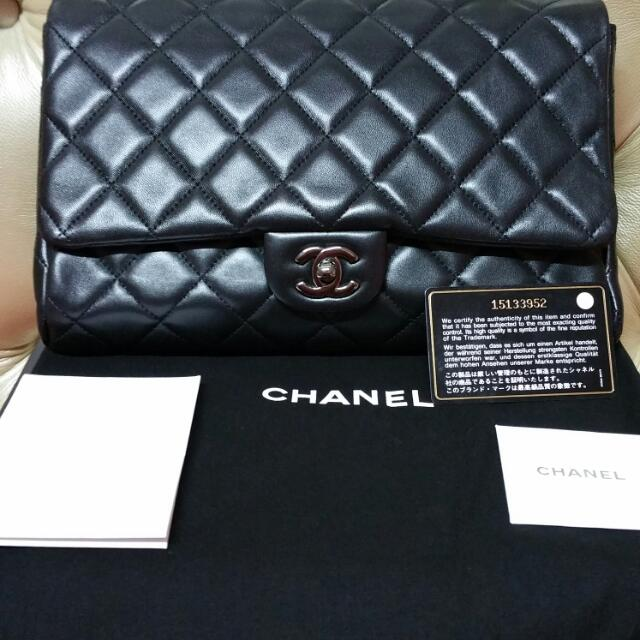 cb8d5cff0713 PRICE REDUCED!! CHANEL CWC (Clutch W Chain) SHW