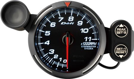 Defi bf tachometer 375 inch with shift light 7 color changing photo photo sciox Choice Image