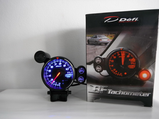 Defi bf tachometer 375 inch with shift light 7 color changing defi bf tachometer 375 inch with shift light 7 color changing option auto accessories others on carousell sciox Choice Image