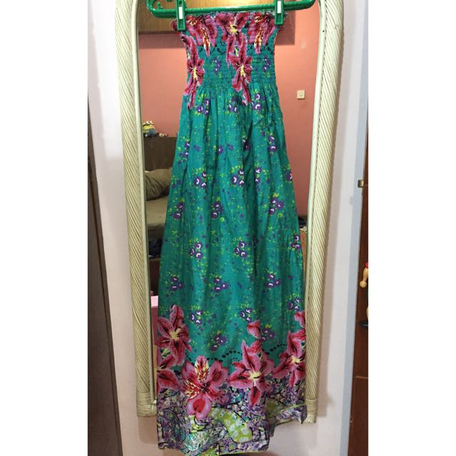 Floral Beach Casual Maxi Dress ( Incl Postage