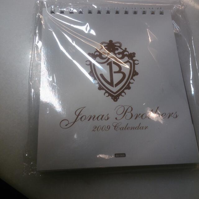 Jonas Brothers 年曆