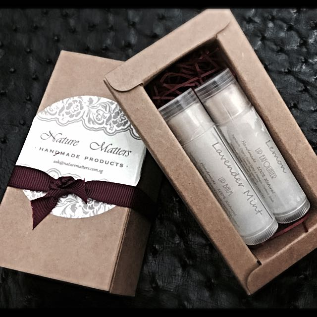 Lip Set (Balm and Exfoliater)