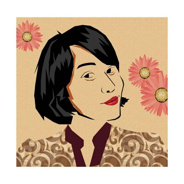 Portrait Illustration - Batik Day ♡