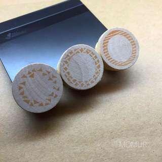 手工印章👉🏻圓形花邊印章