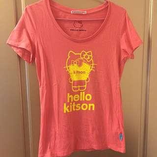 Uniqlo x Hello kitty x kitson短袖衣服