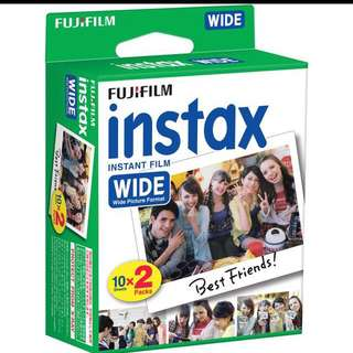 Fujifilm Instax Wide Film TWIN PACK!!!