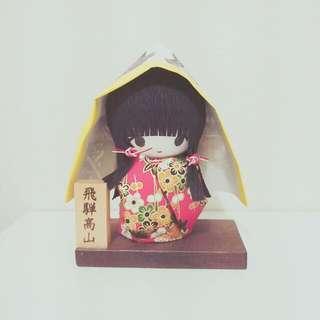 日本手作限定-精致紙娃娃擺件