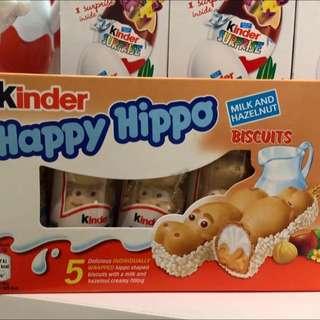 kinder Happy Hippo.造型河馬巧克力--5月中到貨🎉🤗