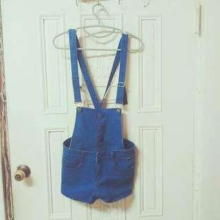 可拆式吊帶短褲,3件$270免運