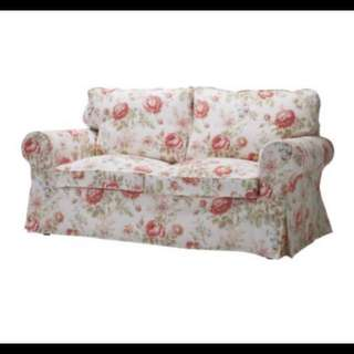 Preloved IKEA EKTORP Floral Sofa