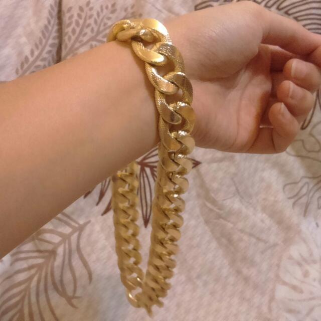 土豪金項鍊