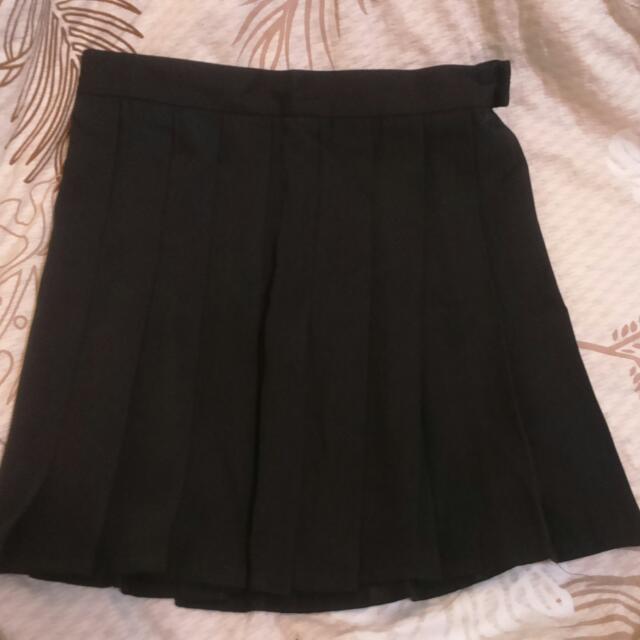 黑色百折裙(保留)
